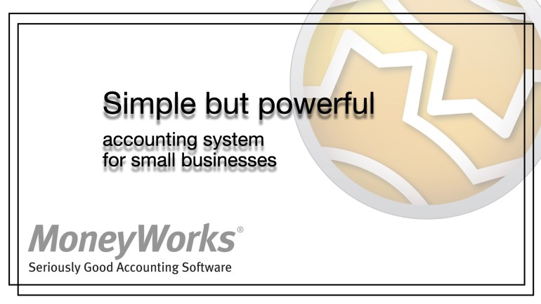 MoneyWorks accounting software