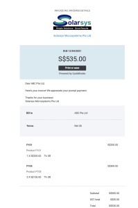 QBO - Online Delivery Invoice