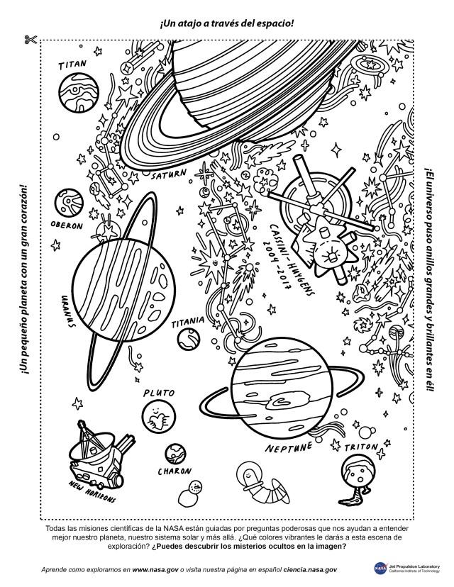 Color Your Universe – NASA Solar System Exploration