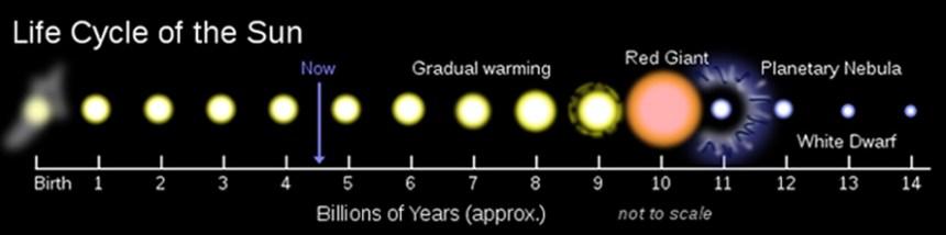 Sun's Life Cycle