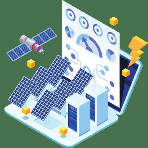 Uçtan uca güneş enerjisi yazılımı