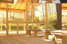 Screen Porch & Custom Deck