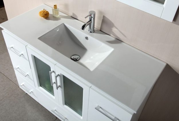 order 48 bathroom vanity in our company