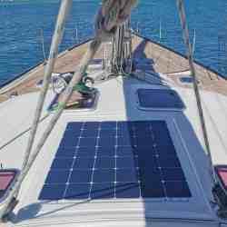 Hanse 531 Schiebeluk Solarmodul Solbian