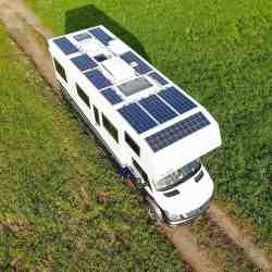 Bocklet Ando 750 Mercedes Sprinter 6x6 caravan expedition truck Solbian Solar