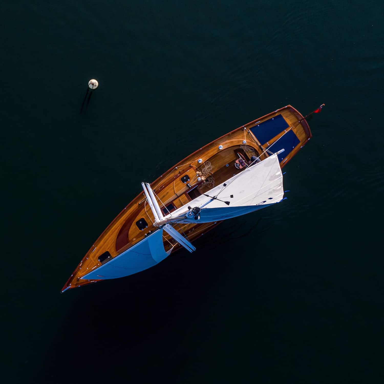 Spirit Yachts 44CR(e) 44CR Solbian Solar Solarmodule Oceanvolt Draufsicht