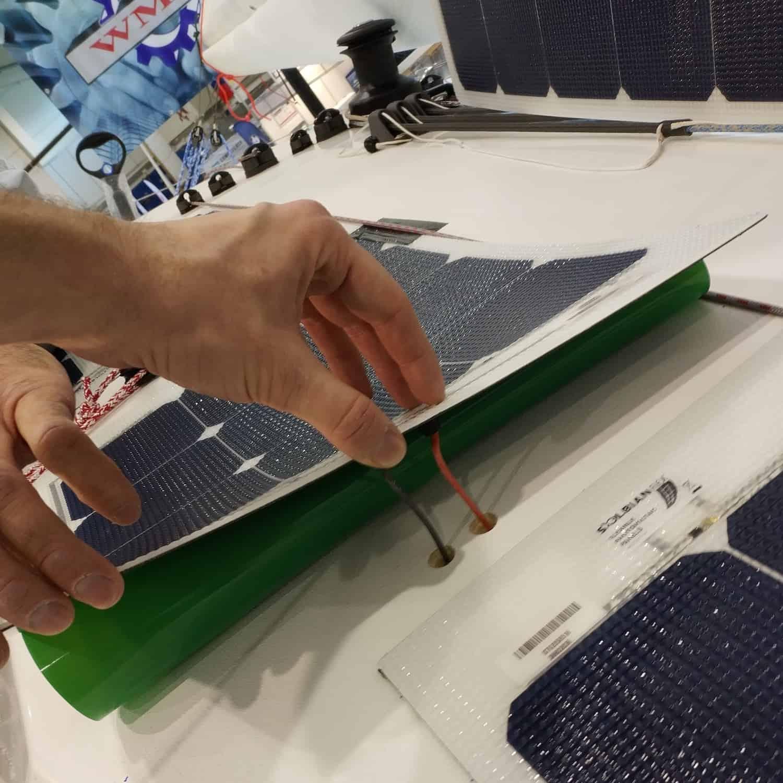 Catana Bali 4.0 4.1 Katamaran Solaranlage begehbar Solbian Solar Installation