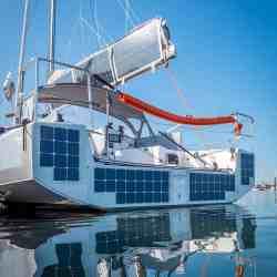 Solbian Solar Pogo 30 Segelyacht Solaranlage Photovoltaik