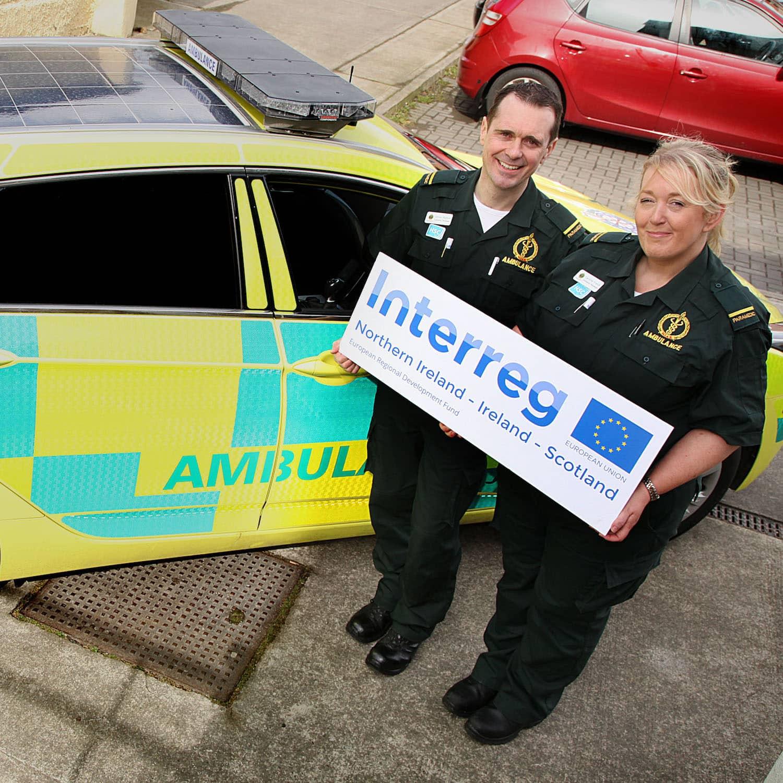Solbian Solar Ambulanz Rettungswagen Feuerwehr Rettung Solaranlage Photovoltaik Fahrzeug Einsatzfahrzeug