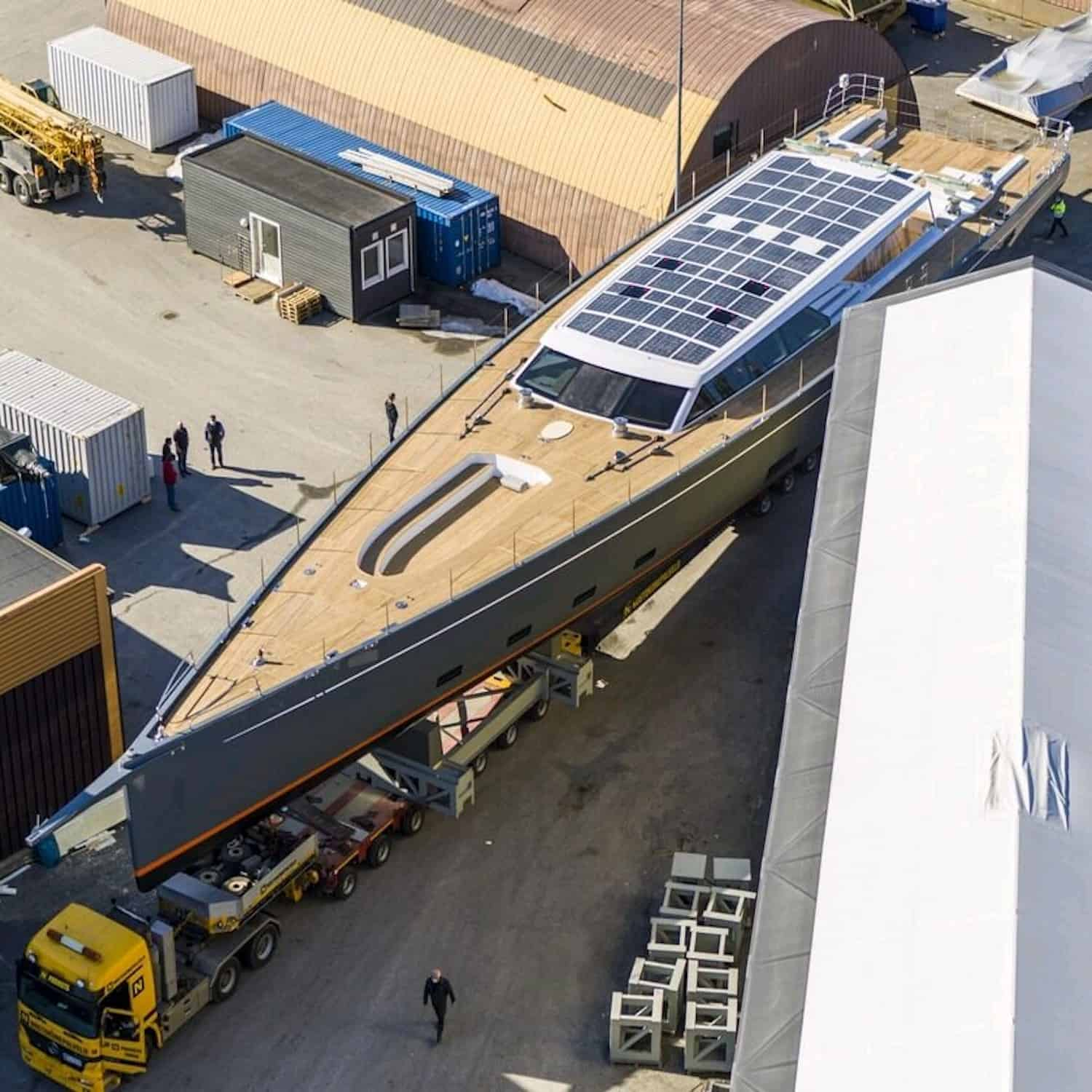 Baltic 146 PATH superyacht Solbian solar photovoltaik largest in the world walkable custom-made bespoke yacht sailing transport