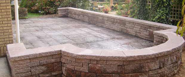 moyer retaining wall solution concrete
