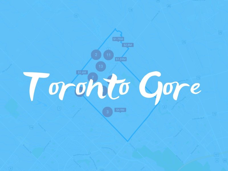Toronto Gore Neighbourhood Properties for sale