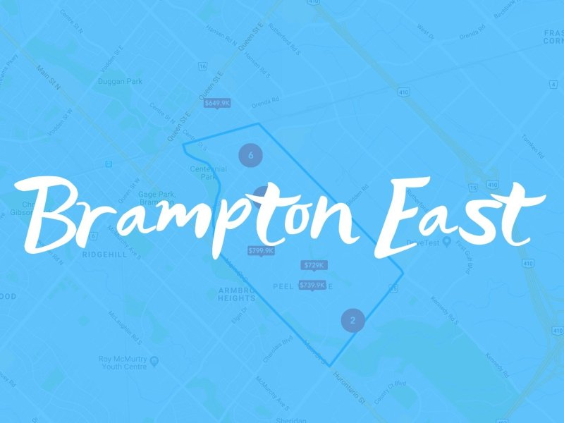 Brampton East Neighbourhood Properties for sale
