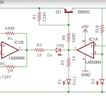 3 7 V Li Ion Battery Charger Circuit Using Lm358 Soldering Mind
