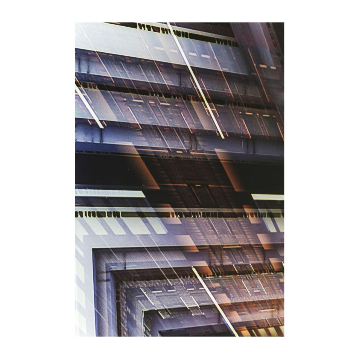 Soldes Kare Design Décoration > Tableau Tableau en verre Science Fiction 120x180 Kare Design
