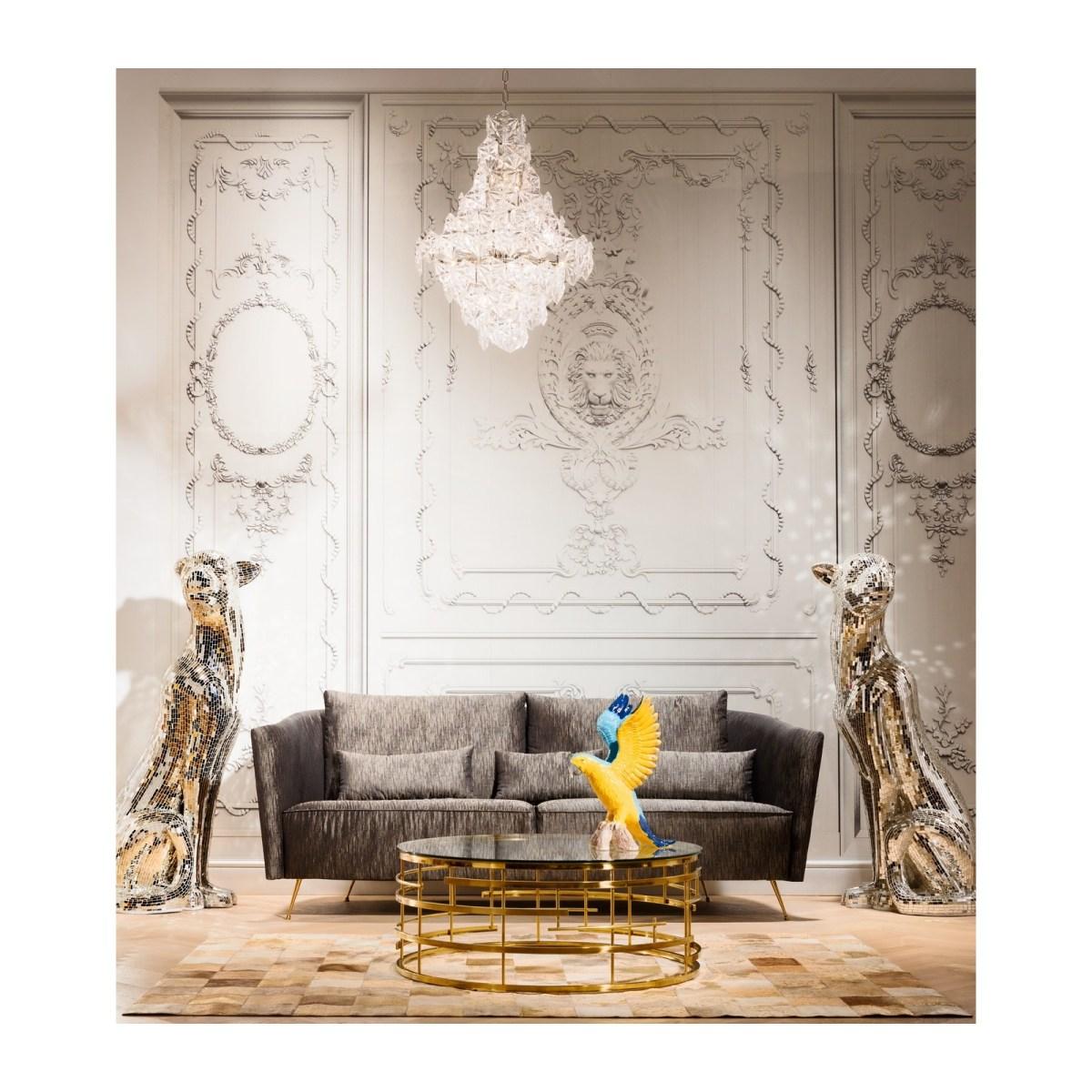 Soldes Kare Design Maison > Décoration > Tapis Tapis Patchwork Vegas Cuir 170x240cm Kare Design