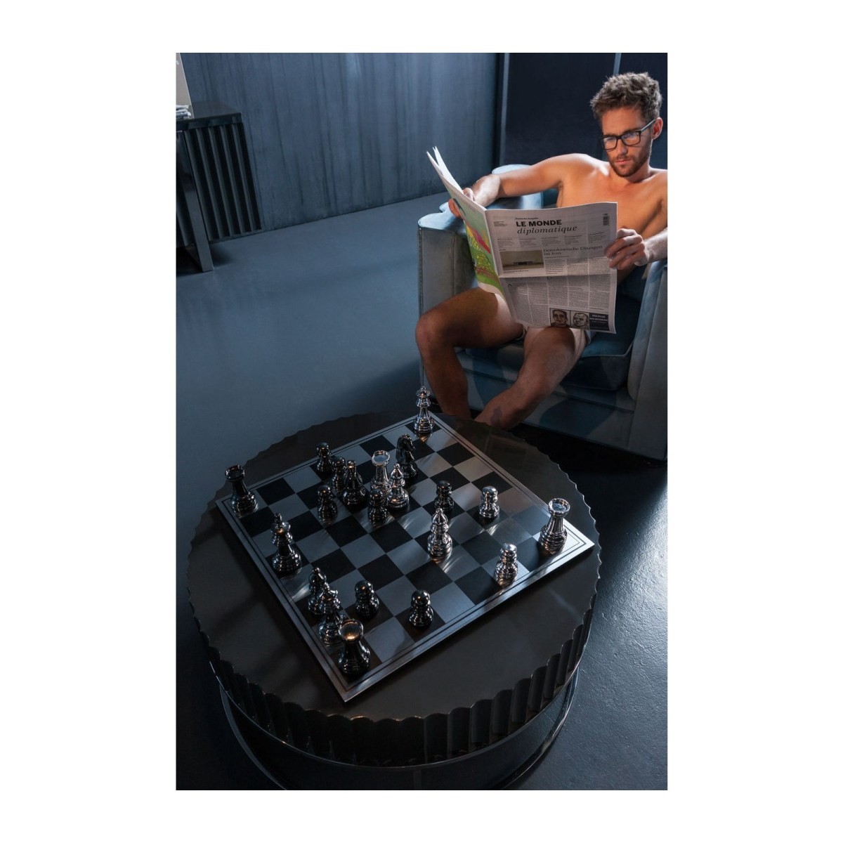 Soldes Kare Design Jeux & Jouets > Jeux de société > Jeux de stratégie Jeu d echecs Big Chess Kare Design