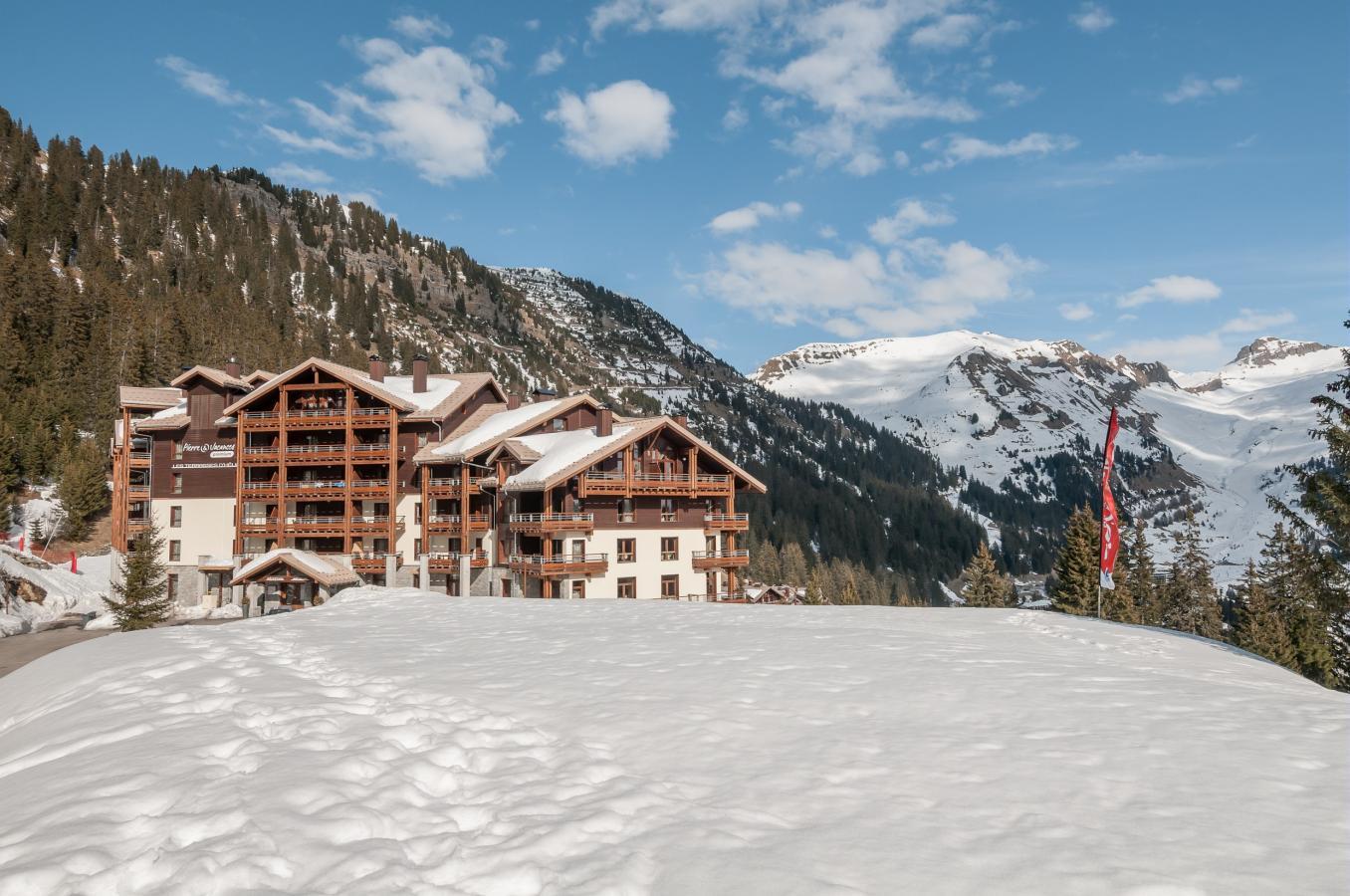 Promo Location vacances hiver Montsoleil Alpes du Nord RESIDENCE P&V PREMIUM LES TERRASSES D'HELIOS