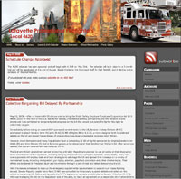 Lafayette Professional Firefighters Website