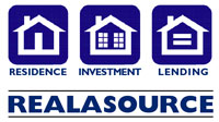 Logo Design Realasource Real Estate Services Colorado