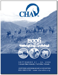 CHA – Conference Program