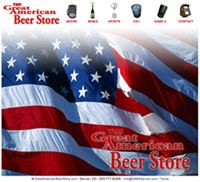 Great American Beer Store Website Design Services