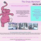Jewelry Website Design, The Crazy Merchant