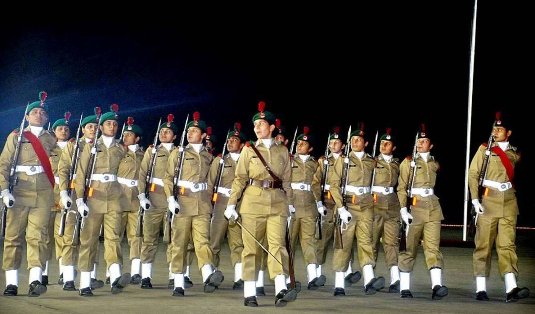 lady cadets Pakistan Army