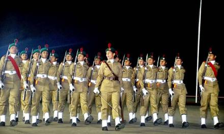 Pakistan Army Lady Cadets parade