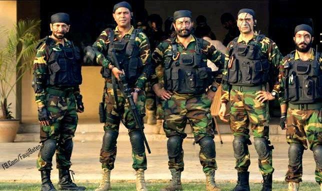 5 brave and dashing commando tigers!