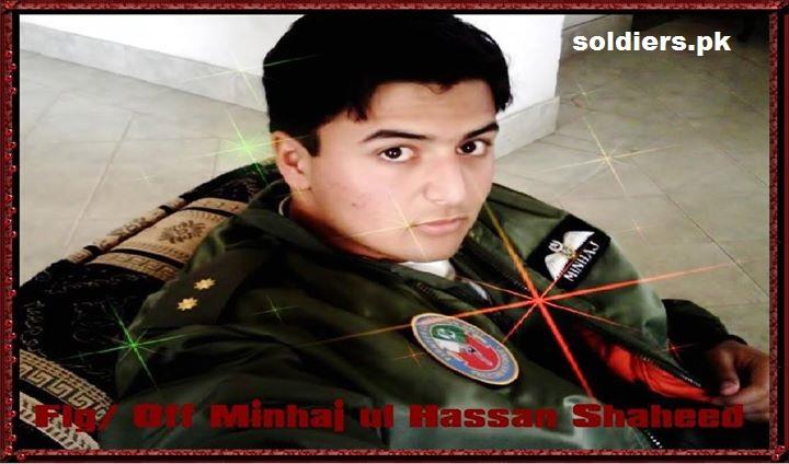 Flyinf officer minhaj.ul.hassan shaheed
