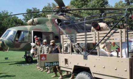 Pak Army relief efforts for chitral