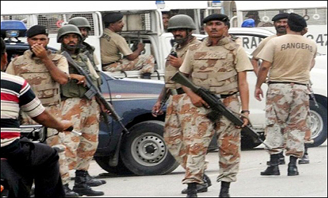 Rangers arrest Pasban General Secretary 20 july 2015