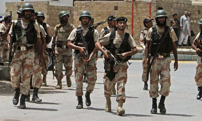 rangers raid on mqm