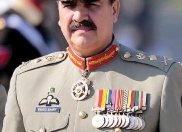 Pak Army chief General Raheel Sharif