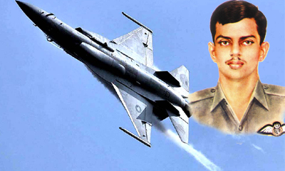 Pilot Officer Rashid Minhas Shaheed