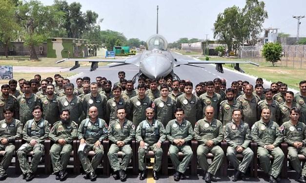Chief of Air Marshal in Sargodha Air Base