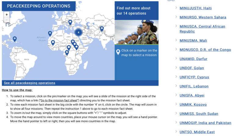 UN Mission Pakistan Army