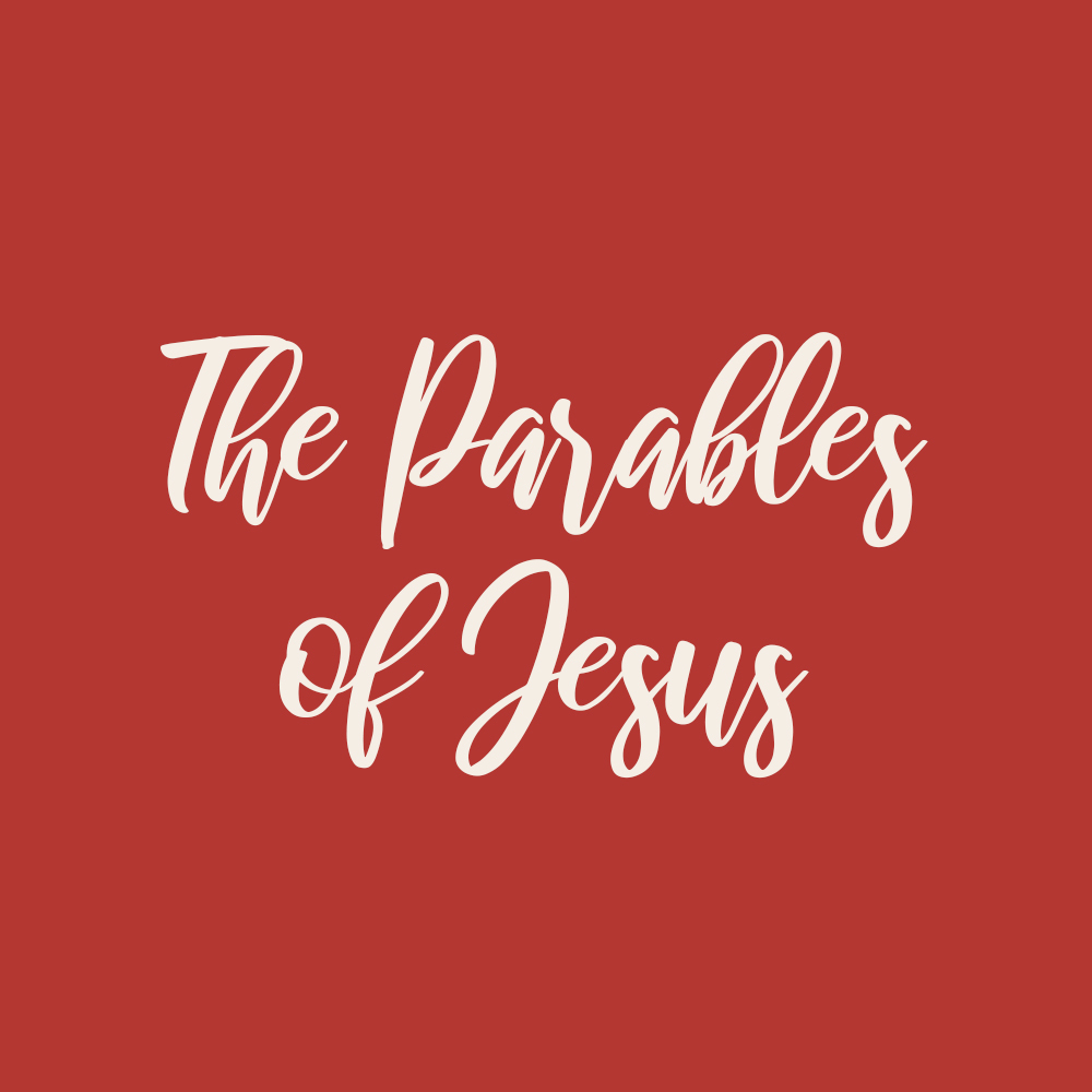 The Parables of Jesus w/ Rich Garza (Men's) 1