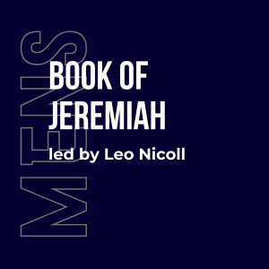Mens bible study Jeremiah