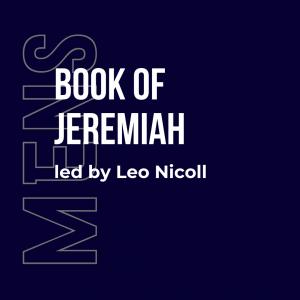 Mens bible study Jeremiah