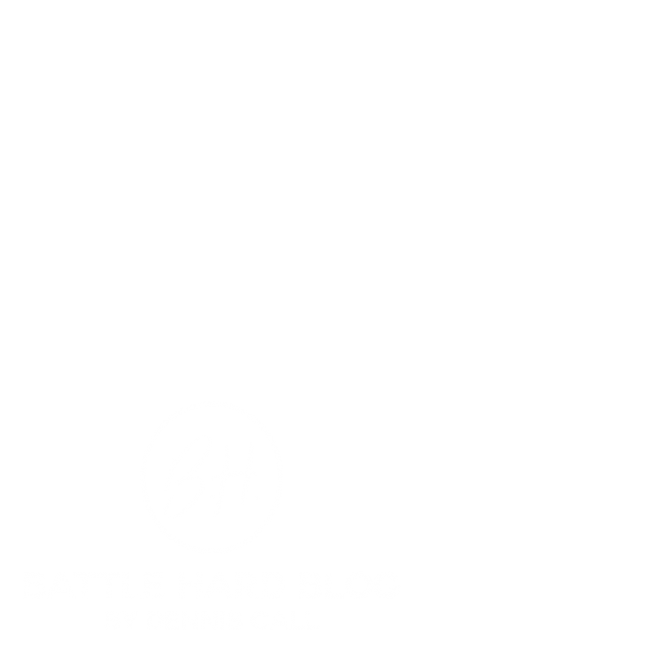 battle hard stamp