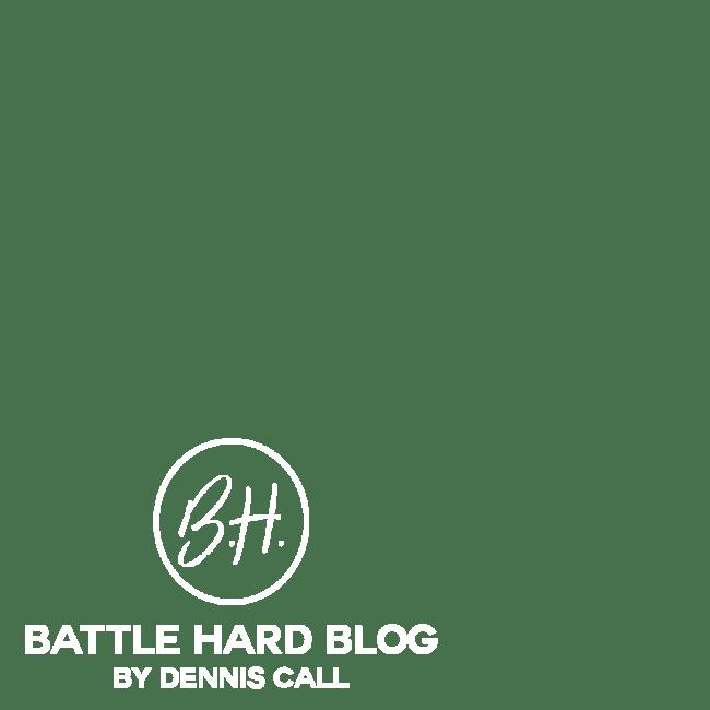 battle hard stamp