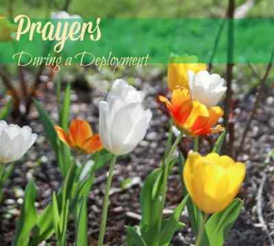 Prayers During a Deployment