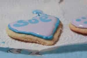 Royal Icing Heart Shaped Cookies
