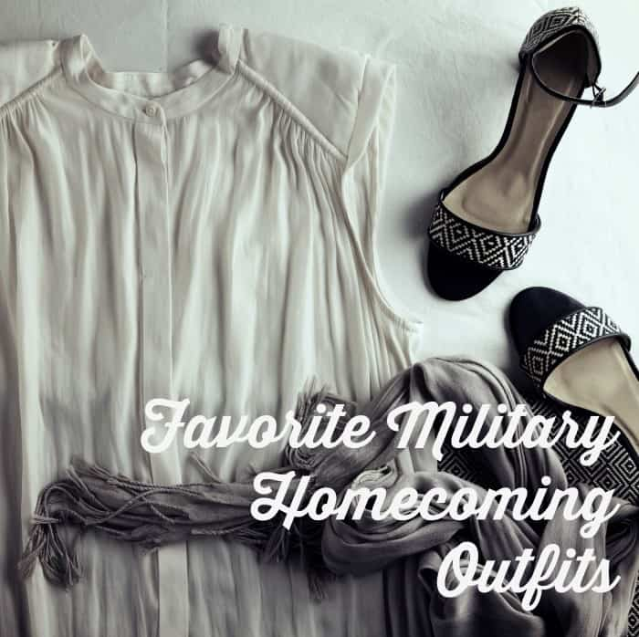 Favorite Military Homecoming Outfits