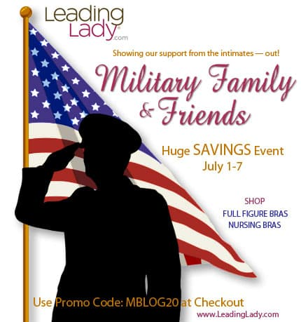 Leading Lady Military Friends and Family