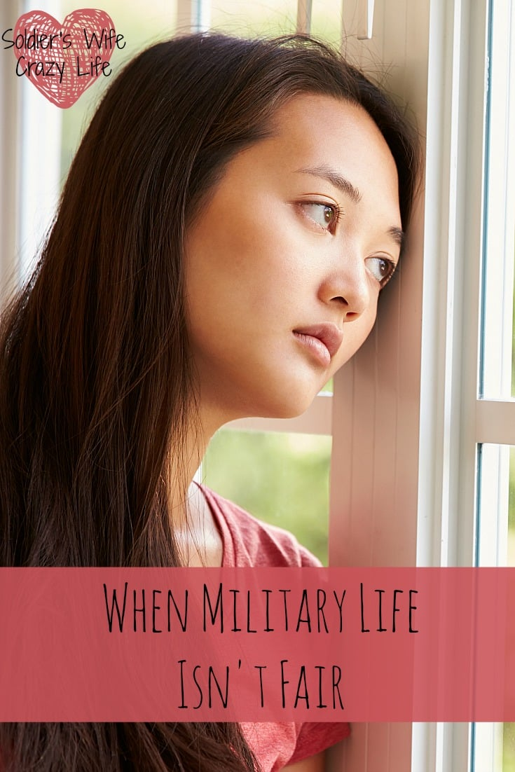 When Military Life Isnt Fair