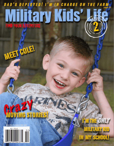 Military Kids' Life Cover Issue 2