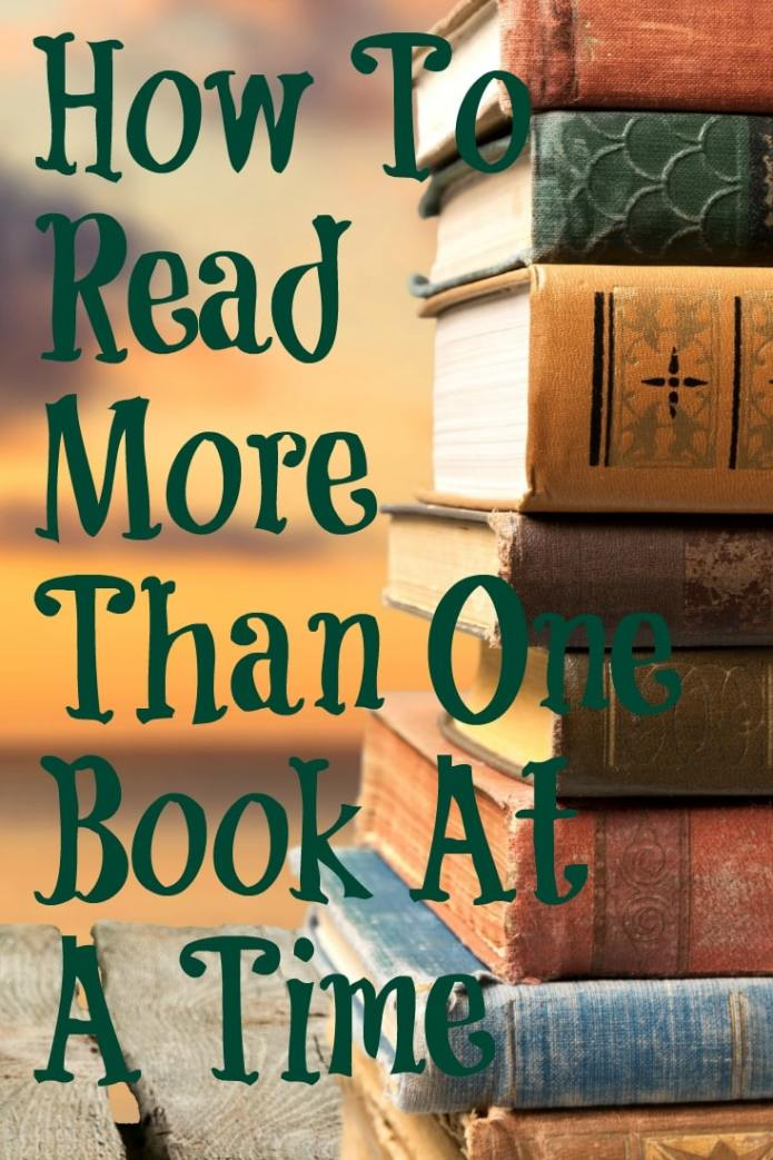 How To Read More Than One Book At A Time